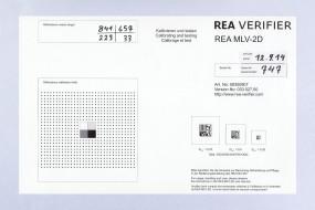 REA Kalibrierkarte mit Testcode